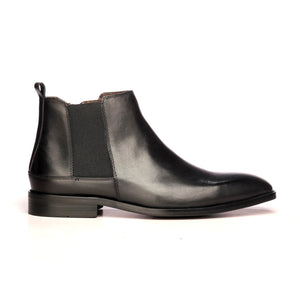 Chic Low-Heeled Ankle Boots for Men - Smart - Pavers England