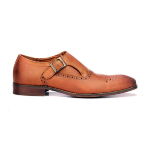 Men's Monk Shoe - Monk - Pavers England
