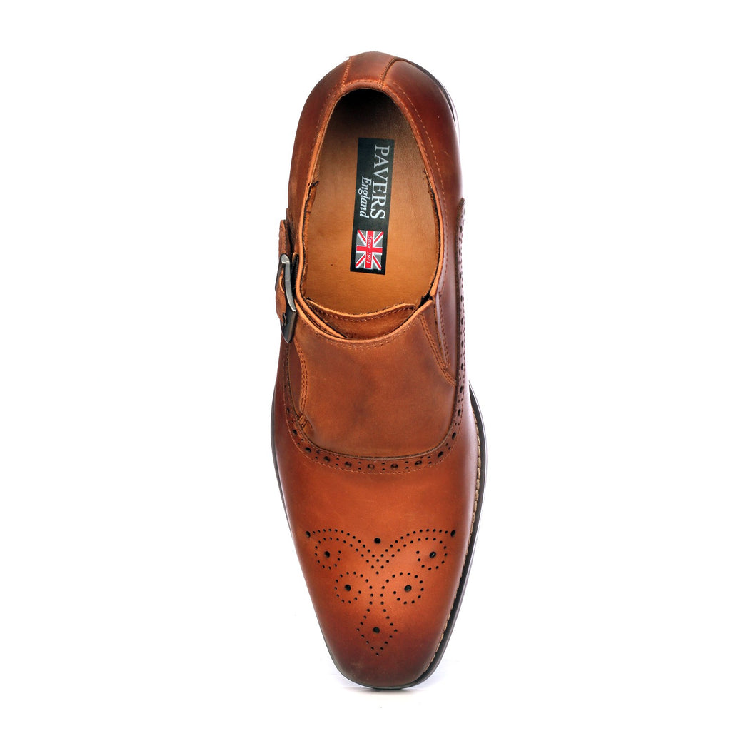 Men's Monk Shoe - Slip ons - Pavers England