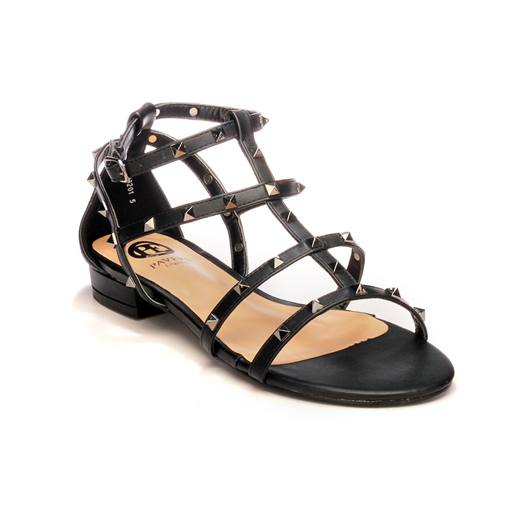 Women's Sandal - Black - Wedding & Occasion - Pavers England