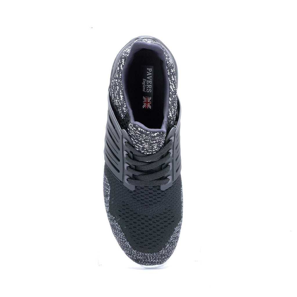 Men's Shoe-Black - Sneakers - Pavers England