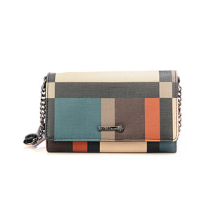 Checkered Multi Sling Bag - Ladies - Pavers England
