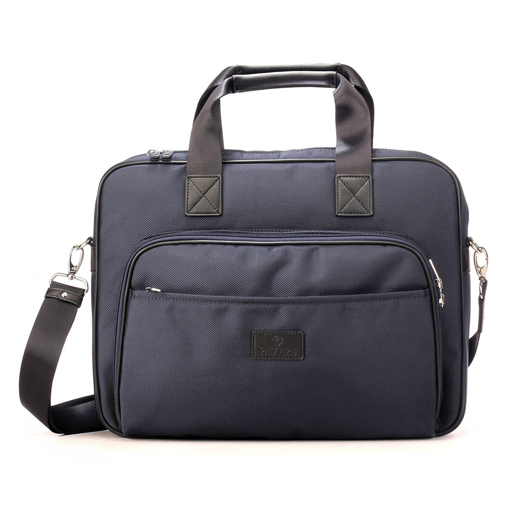 Simple and Smart Black Formal/Casual Business Bag for Men - Laptop Bags - Pavers England
