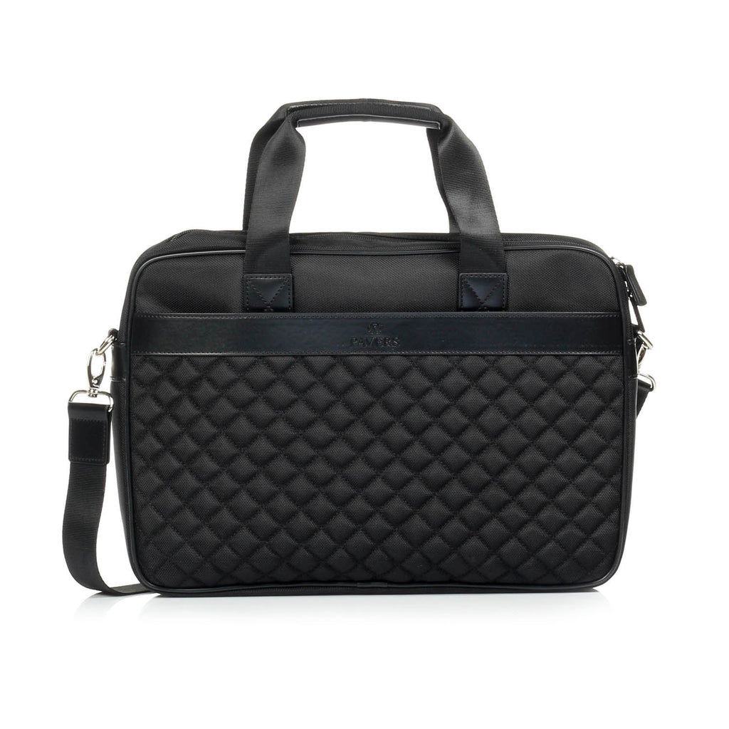 Black Business Leather Bag For Men - Bags - Pavers England
