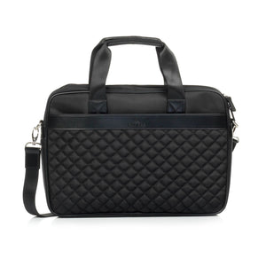 Business Leather Bag For Men-Black - Laptop Bags - Pavers England