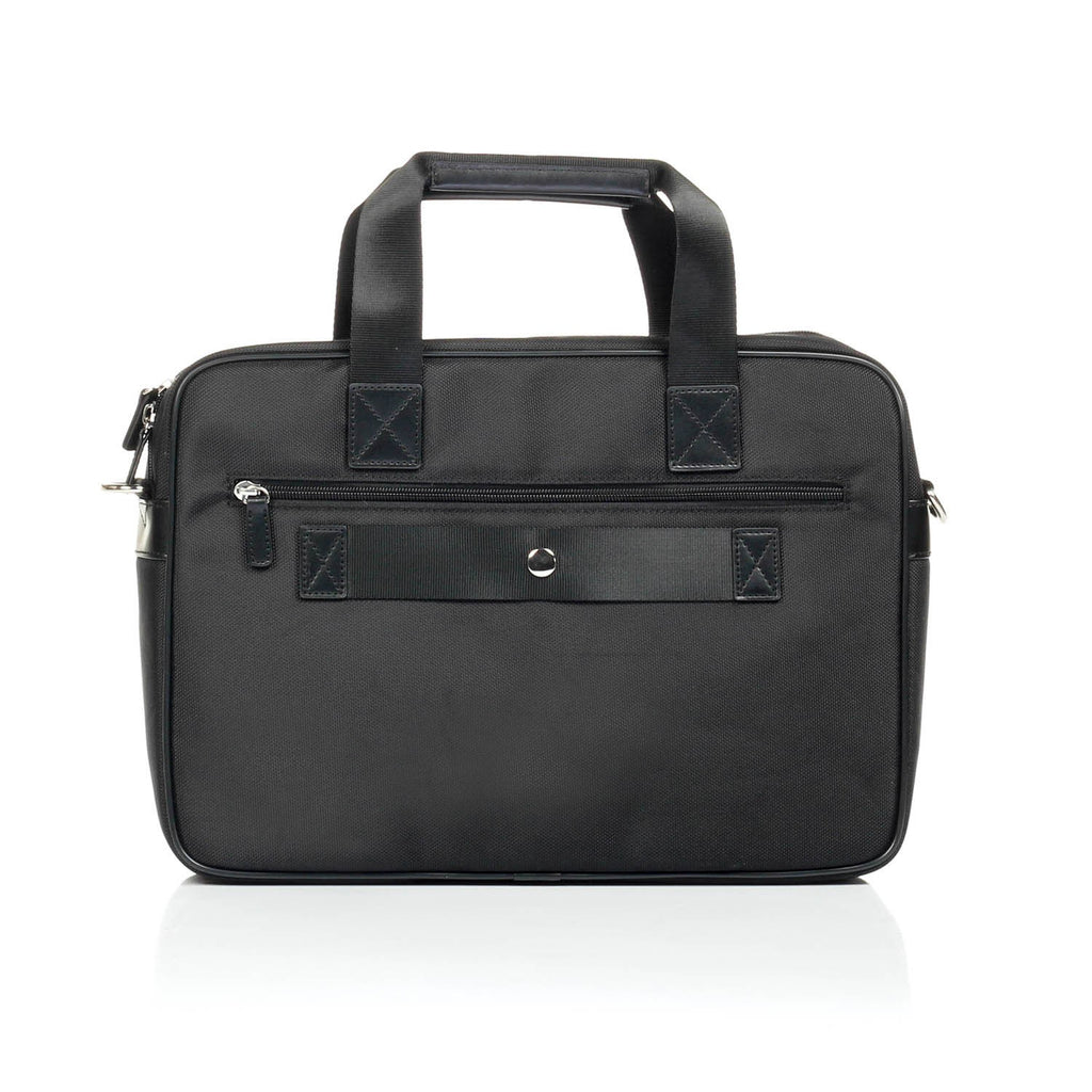 Business Leather Bag For Men-Black - Bags & Accessories - Pavers England
