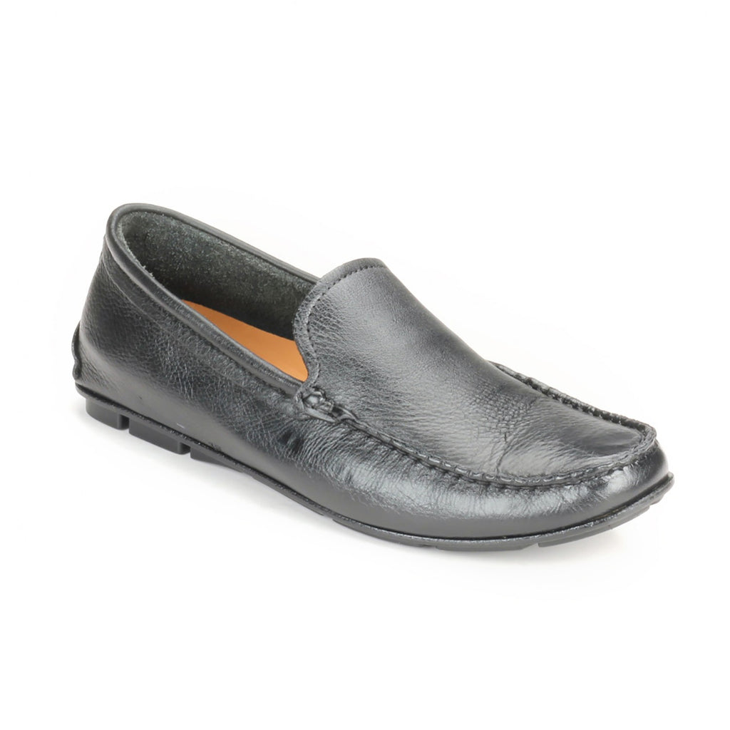 Men's Loafers-Black - Slip ons - Pavers England
