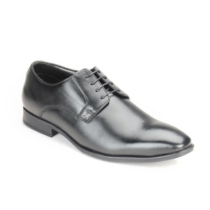 Men's Formal Shoe-Black - Lace ups - Pavers England
