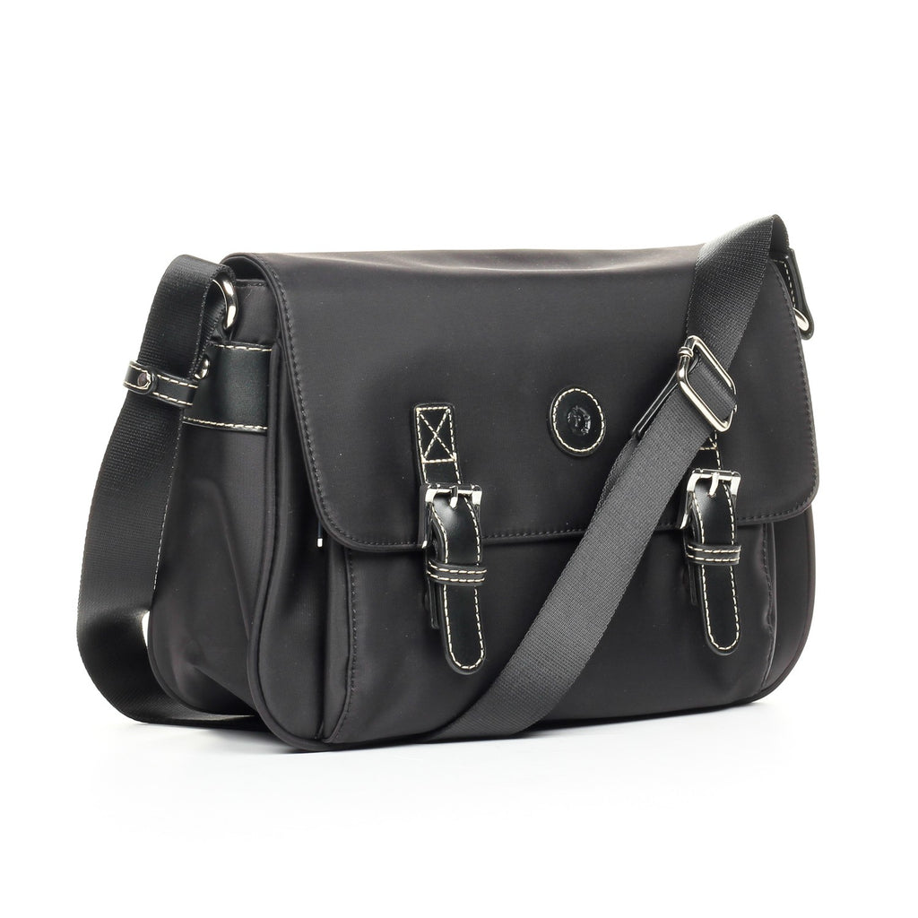 Black Smooth Sling Bag for Women - Bags - Pavers England