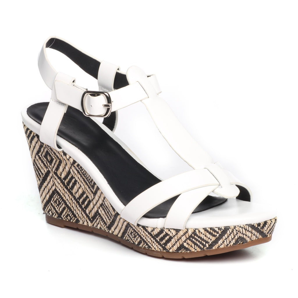 Women's Sandal - White - Sandals - Pavers England