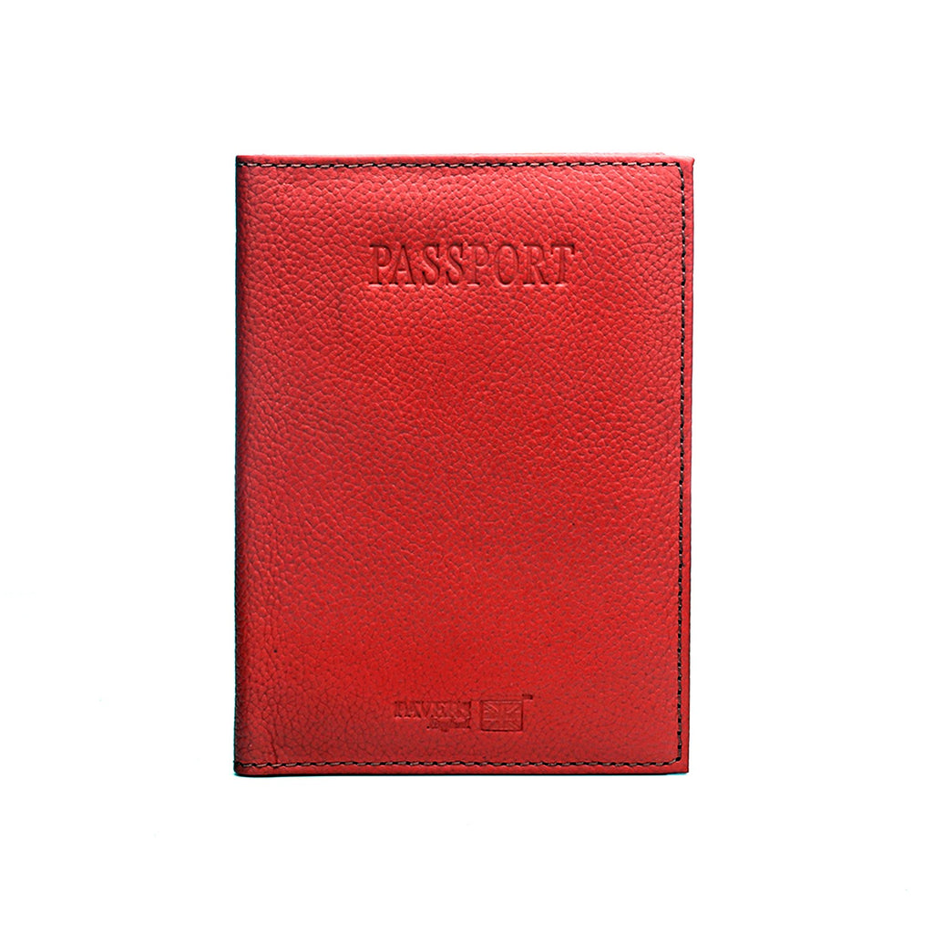Leather Passport Cover Ladies-Pink - Bags & Accessories - Pavers England