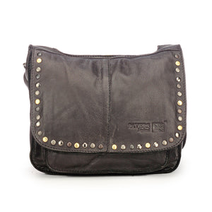 Leather Sling Bag for Women with Triple Compartments - Sling Bags - Pavers England