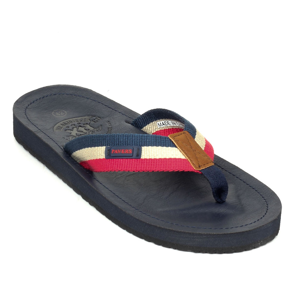 Men's Flip Flop - Red - Open Toe - Pavers England