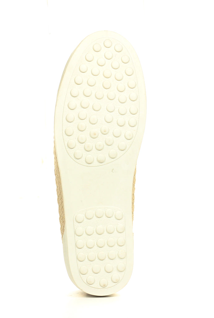 Women's Slip-on Shoe - Gold - Full Shoes - Pavers England