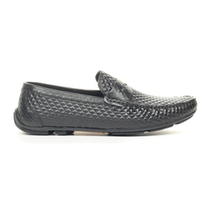 Men's Shoe-Black - Slip ons - Pavers England