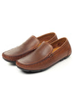 Smart Leather Loafers for Men - Tan - Moccasins - Pavers England