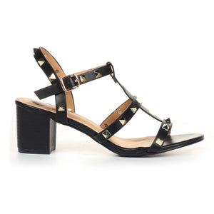 Women's Sandals - Black - Wedding & Occasion - Pavers England