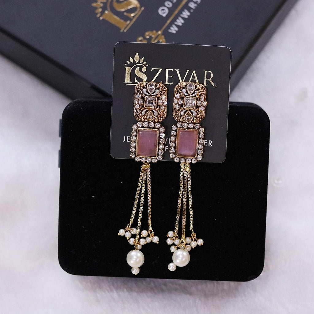 EG056 Egyptian Earrings - RS ZEVARS