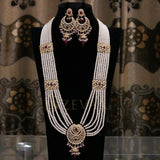 MS1001 Zevar Chand Bali Mala Set - RS ZEVARS