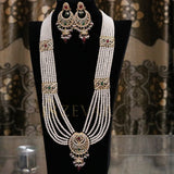 MS1001 Zevar Chand Bali Mala Set