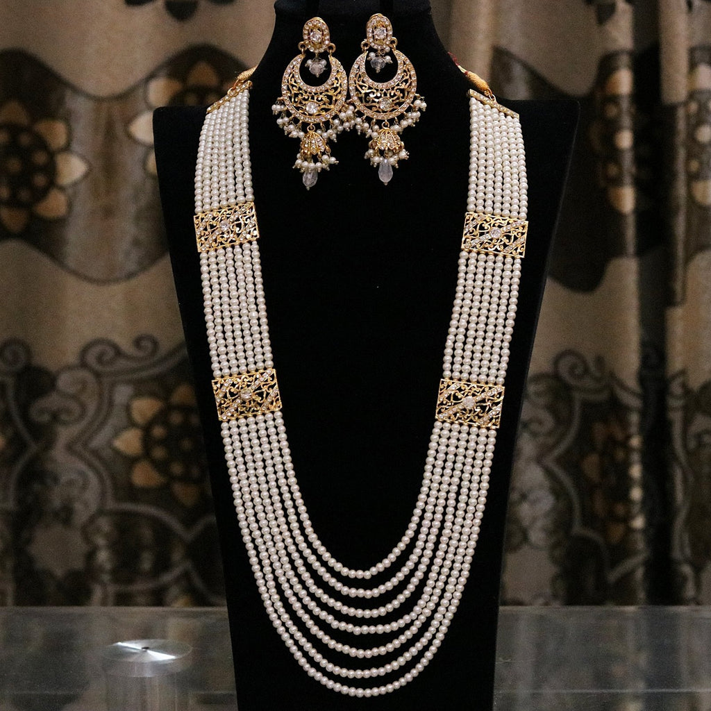 MS1002 Hyderabadi Style Seven Layers Mala Set - RS ZEVARS