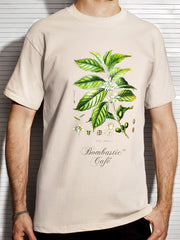 One-Sided Botanical Male T Shirt
