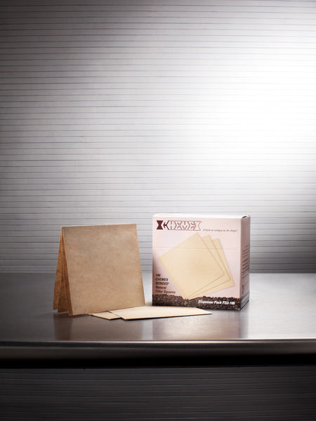 CHEMEX® Pre-folded Squares Bonded Filters (Natural)