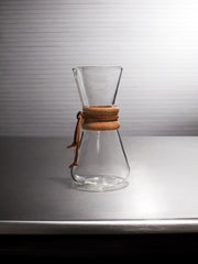 Small Hand-Blown Coffee Brewer (Borosilicate Glass)