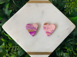 Big Loveland Heart Earrings