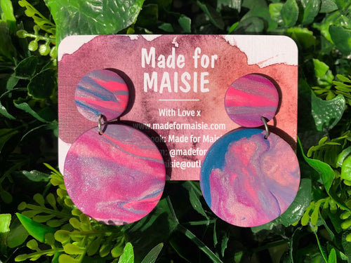 Mystic Mix Hanging Earrings