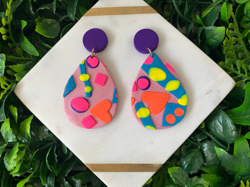 Popsicle Hanging Earrings