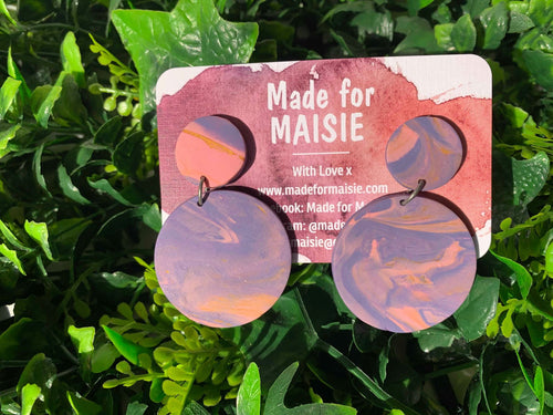 Vapour Mix Hanging Earrings
