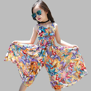 72cbca714793a 2018 Brand New Girls Dresses Bohemia Children Dresses Girls Summer Floral  Party Dresses Teenage Girls Clothing For 6 8 12 Years