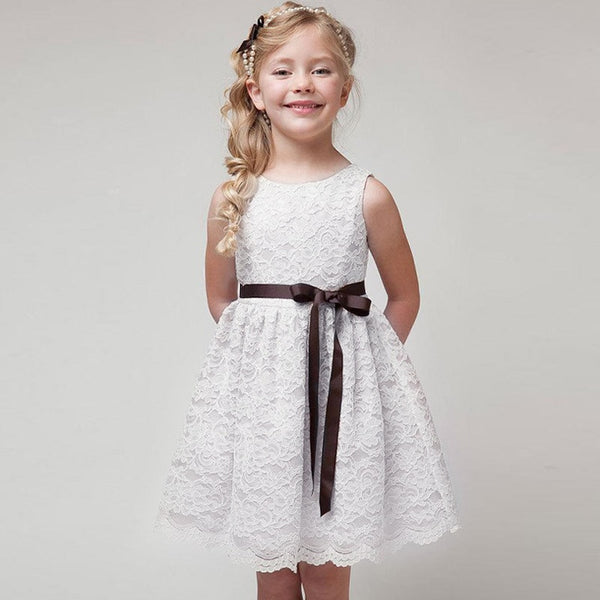 2019 Summer Baby Kids Girl Dress Toddler Princess Party Tutu Dress for  Girls Clothes Birthday Wedding Gown Girls Dresses