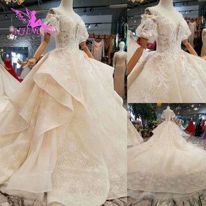 6b7bd46f5 AIJINGYU Beautiful Wedding Gowns Online Crystal Pictures Amazing Shops  Luxury Newest Gown 2016 Made In Turkey