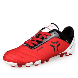d4048144b271 Football Boots Kids Men Soccer Cleats Shoes Trainer Outdoor Sports Sneakers  futsal TF Soccers Teenager Training chuteira futebol