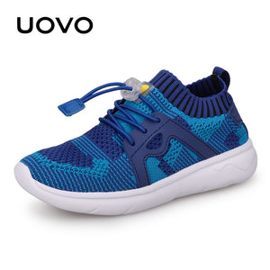 8a21976b1 UOVO Kids Sport Shoes Boys Running Shoes 2019 Spring Children Breathable  Mesh Shoes For Boys And Girls Fashion Sneakers 27#-37#