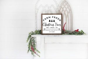 Farmhouse Christmas Tree Sign Workshop: 12/19