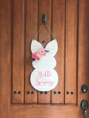 Spring Door Hanger workshop: 3/12