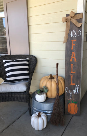 5ft Fall Front Porch sign workshop: 9/16
