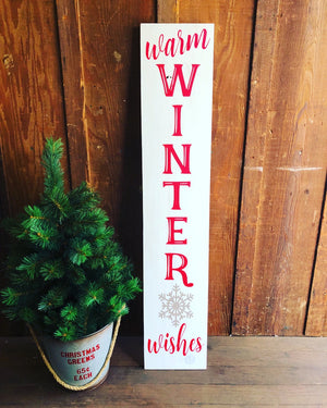 5ft front porch holiday sign workshop: 11/7