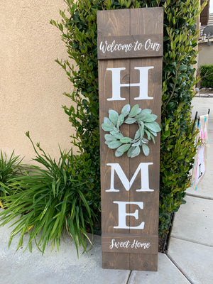 Hello Summer Front Porch sign sign: 6/21