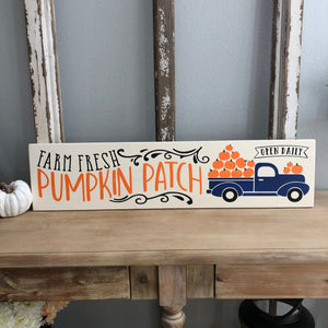 Fall sign Workshop: 9/28