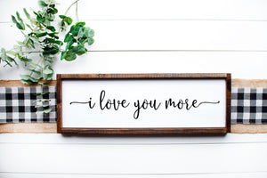 """Love"" themed farmhouse framed sign workshop: 1/14"
