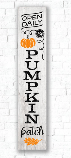 5ft Fall Front Porch sign workshop: 10/3