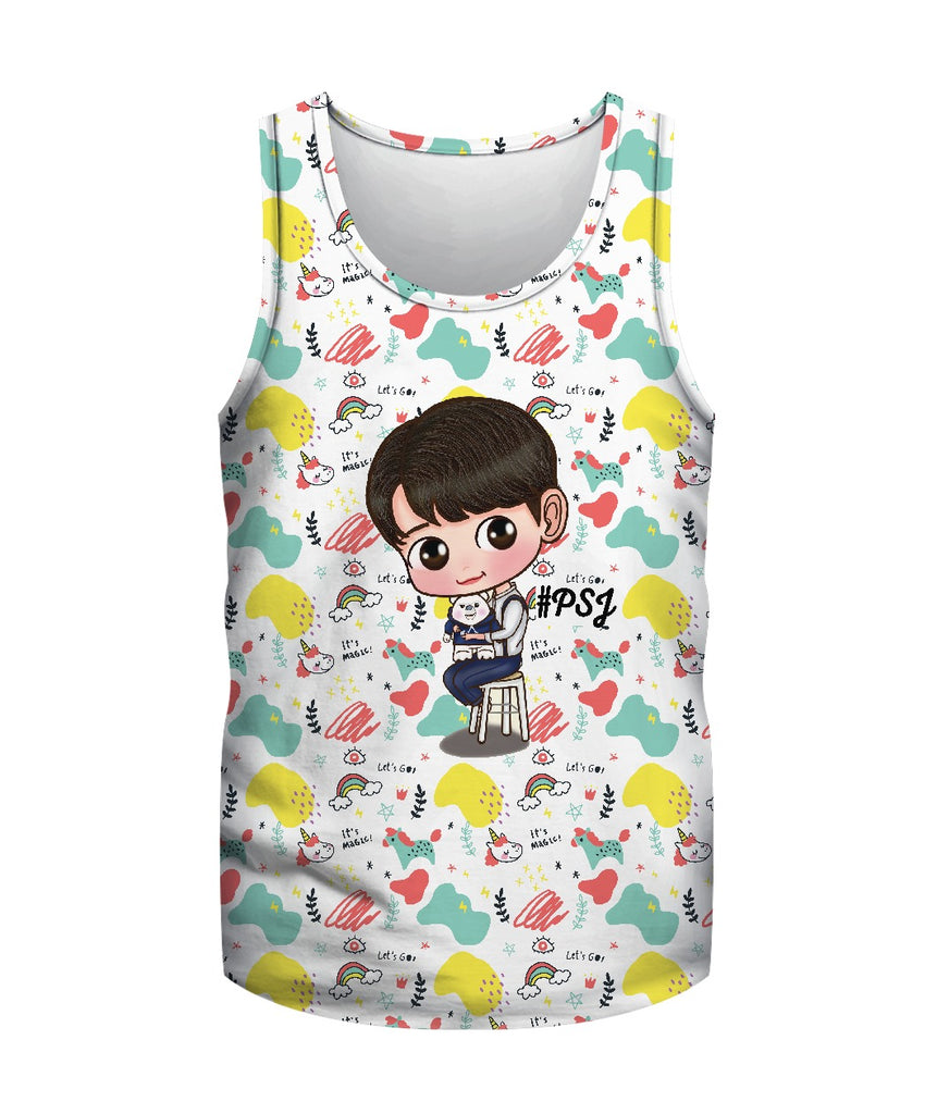 Park Seo Joon Tank Top  Cute