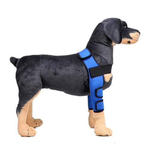1 Pair Dog Canine Elbow Protector Leg Joint Support Brace Sleeve Wrap