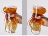Image of Sexy Lady and Men Durable Double Wall Large Whiskey Glasses 700ml