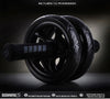 Image of New Keep Fit Wheels No Noise Abdominal Wheel Ab Roller With Mat For Exercise Muscle Hip Trainer Fitness Equipment