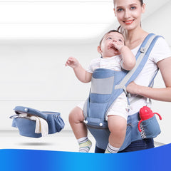 Original Ergonomic Baby Carrier Infant Baby Hipseat Kangaroo Baby Wrap Sling for Baby Trave